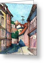 Sunny Day Greeting Card by Serge Yudin