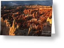 Sunrise At Bryce Canyon Greeting Card by Sandra Bronstein