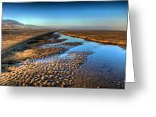 Sunrise At Rockaway Beach Oregon Greeting Card by Spencer McDonald