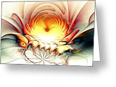 Sunrise In Neverland Greeting Card by Anastasiya Malakhova
