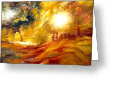 Sunrise Greeting Card by Michelle Dommer