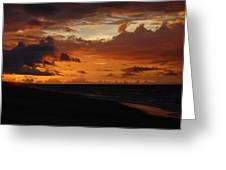 Sunrise  Greeting Card by Mim White