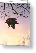 Sunrise Greeting Card by Natasha Denger