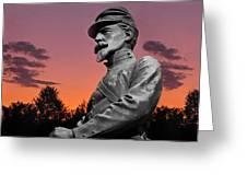 Sunset At Gettysburg Greeting Card by David Dehner