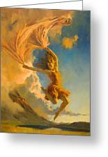 Sunset Dance Greeting Card by Douglas Girard