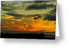 Sunset Glow Greeting Card by Lynda Dawson-Youngclaus
