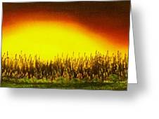 Sunset Groove-buy Giclee Print Nr 17 Greeting Card by Eddie Michael Beck