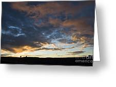 Sunset In Utah Greeting Card by Delphimages Photo Creations