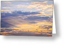 Sunset Sky Greeting Card by Elena Elisseeva