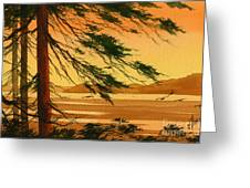 Sunset Splendor Greeting Card by James Williamson
