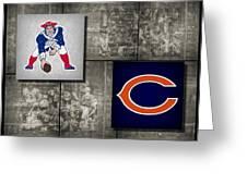 Super Bowl 20 Greeting Card by Joe Hamilton