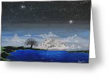 Super Moon Greeting Card by Jim Bowers