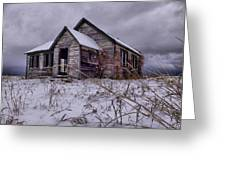 Swan Valley School Greeting Card by Dave Bower
