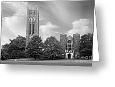 Swarthmore College Clothier Hall Greeting Card by University Icons