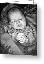 Sweet Dreams Greeting Card by Susan Leggett