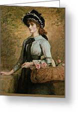 Sweet Emma Morland Greeting Card by Sir John Everett Millais