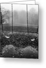 Swing Seats I Greeting Card by Steven Ainsworth