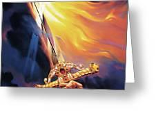Sword of the Spirit Greeting Card by Jeff Haynie