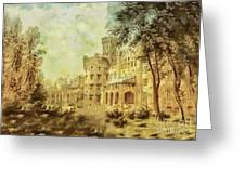 Sybillas Palace Greeting Card by Mo T