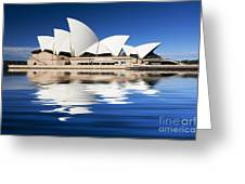Sydney Icon Greeting Card by Sheila Smart