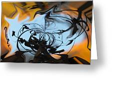 Symphony In Silhouette  Greeting Card by Wayne King