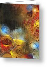 Tabernacle Greeting Card by Francoise Dugourd-Caput