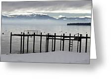 Tahoe Greeting Card by Alison Miles Photography