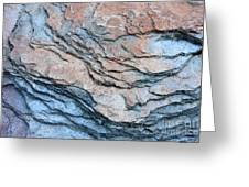Tahoe Rock Formation Greeting Card by Carol Groenen