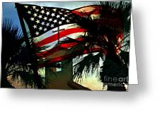 Take Back America Greeting Card by Beverly Guilliams