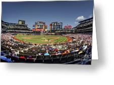 Take Me Out To The Ballgame Greeting Card by Evelina Kremsdorf