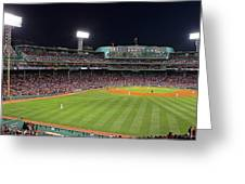 Take Me Out To The Ballgame Greeting Card by Juergen Roth