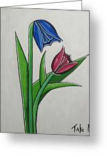 Take Me Greeting Card by Sandra Marie Adams