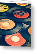 Take Those Old Records Off The Shelf Greeting Card by Edward Fielding