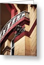 Taksim Architecture Greeting Card by John Rizzuto