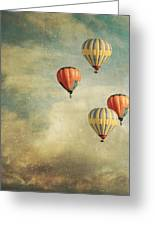 Tales Of Far Away Greeting Card by Violet Gray