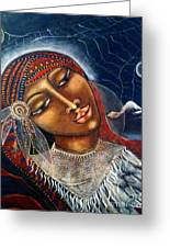 Taliswoman Greeting Card by Maya Telford