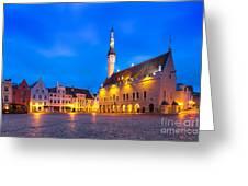 Tallinn 03 Greeting Card by Tom Uhlenberg