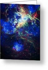 Tarantula Nebula 5 Greeting Card by Jennifer Rondinelli Reilly - Fine Art Photography