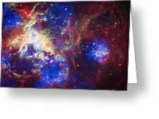 Tarantula Nebula 6  Greeting Card by The  Vault - Jennifer Rondinelli Reilly