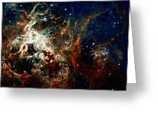 Tarantula Nebula Greeting Card by Amanda Struz