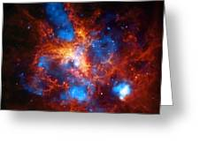 Tarantula Nebula Greeting Card by The  Vault - Jennifer Rondinelli Reilly