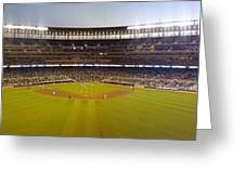 Target Field Greeting Card by Todd and candice Dailey