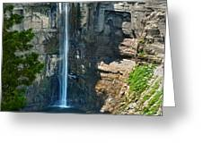 Taughannock Falls Greeting Card by Christina Rollo
