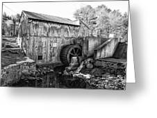 Taylor Sawmill - Derry New Hampshire Usa Greeting Card by Erin Paul Donovan
