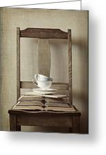 Tea Tales Greeting Card by Amy Weiss