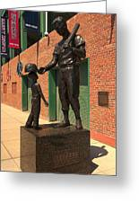 Ted Williams Greeting Card by Paul Mangold