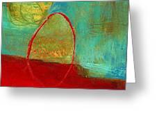 Teeny Tiny Art 115 Greeting Card by Jane Davies