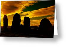 Temple Of The Ancients Greeting Card by Aidan Moran