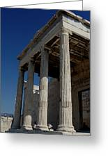 Temple Of The Athena Nike Greeting Card by Lorraine Devon Wilke