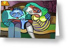 Tender Moments Greeting Card by Anthony Falbo